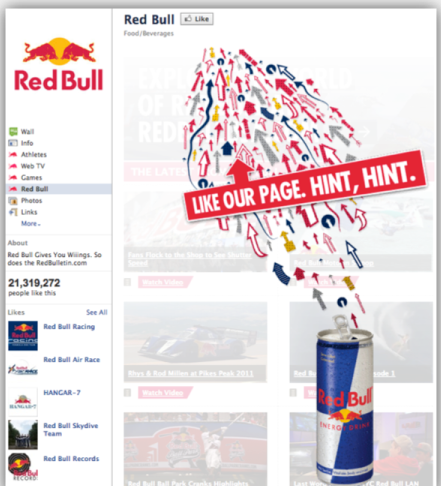 red bull social media marketing Going big with digital content red bull media house - the media empire red bull has own red bull media house more than 900 domains in 36 languages under wwwredbullcom.
